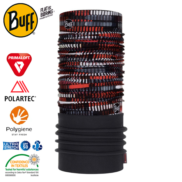 【BUFF 西班牙 Polar 保暖頭巾 Plus 機械齒輪】120913/圍脖/帽子/口罩/圍巾/快乾透氣