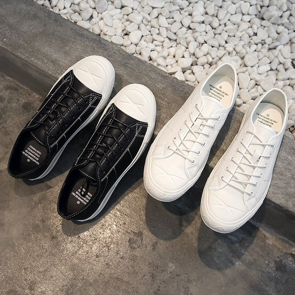 FINDSENSE H1 2018新款 韓國 平底 小白鞋 男士 休閑鞋 男鞋