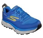 SKECHERS GO TRAIL ULTRA 4 - GO DRI [55246BLYL] 男鞋 運動 休閒 慢跑 藍