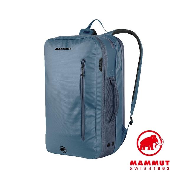 Mammut 長毛象 Seon Transporter 26L 通勤筆電後背包 冠藍鴉 #2510-03910