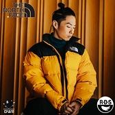 【The North Face 男 700FP 防潑水羽絨保暖外套《黃/黑》】3C8D/保暖外套/防潑水/休閒連帽外套