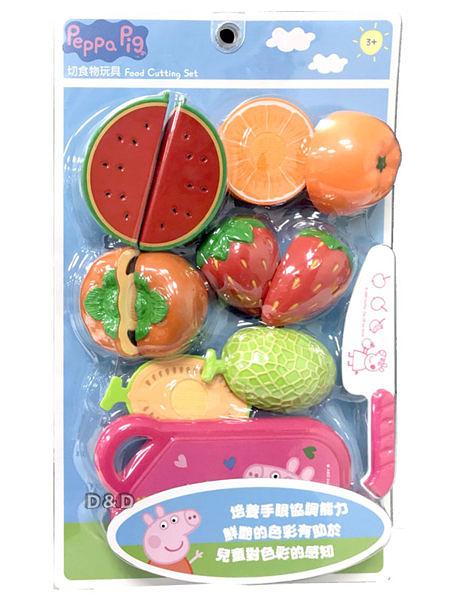 《 Peppa Pig 》粉紅豬小妹 - 佩佩豬切水果遊戲組 / JOYBUS玩具百貨