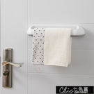 毛巾架 免打孔衛生間浴室吸盤掛架浴巾架子北歐簡約創意單桿毛巾桿