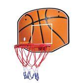 尾牙年貨節大號兒童籃球架 青少年掛式木質籃板 鐵籃筐 室內大籃框37cm第七公社