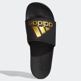 ADIDAS ADILETTE COMFORT 男鞋 女鞋 拖鞋 休閒 柔軟 黑 金【運動世界】EG1850