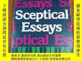 二手書博民逛書店Sceptical罕見EssaysY12800 Bertrand