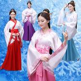 日系和服新品漢服女裝漢服曲裾古裝服裝 漢服民族服裝女古裝曲裾演出服裝 中元節禮物