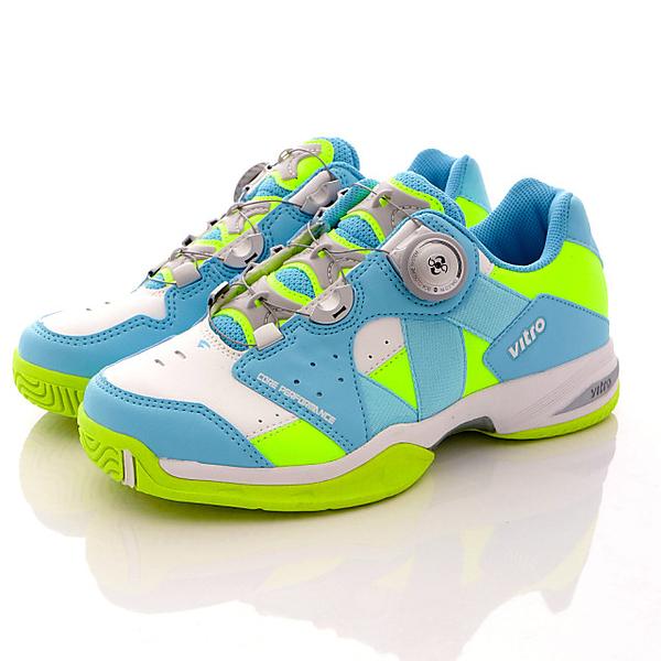 【VITRO】韓國專業運動鞋-RANKERS2.0BOA系列頂級專業網球鞋-藍綠(女)
