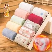 加厚加絨中筒女士毛巾襪毛圈襪吸汗暖冬襪子純色條紋簡約冬季保暖