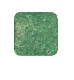 [協貿國際]天然磨砂綠玉正方形DIY手工飾品配件(15入價)