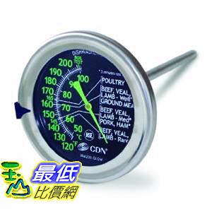 [104美國直購] CDN IRM200-Glow 烤箱用溫度計 B00CD5NI0E Meat/Poultry _T01
