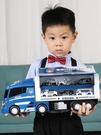 兒童玩具車模型汽車套裝組合大卡車消防車警車男孩寶寶慣性工程車