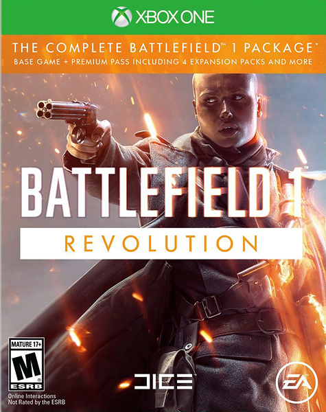 X1 Battlefield 1 Revolution Edition 戰地風雲 1 革命版(美版代購)