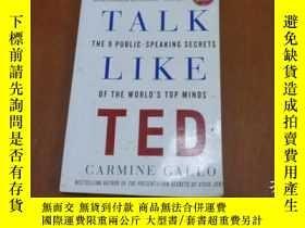 二手書博民逛書店TALK罕見LIKE TED, Carmine GalloY20470 Carmine Gallo St. M