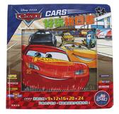 【卡漫城】 Cars 拼圖書 五款圖案 ㊣版 9/12/16/20/24片 閃電麥坤 益智遊戲書 兒童 汽車總動員 拼圖