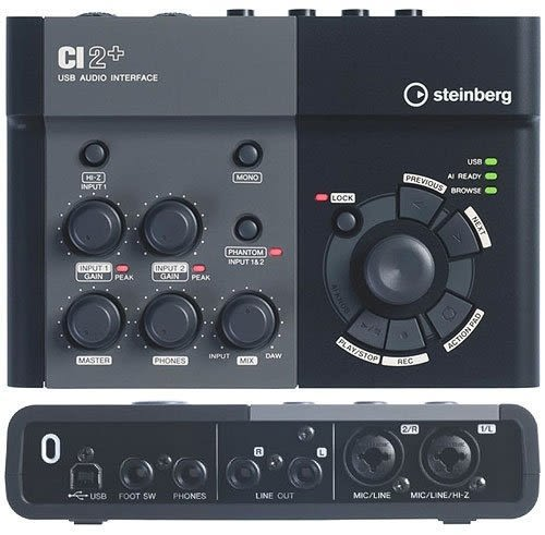 【金聲樂器廣場】Steinberg CI2+/ CI2 Plus USB 錄音介面