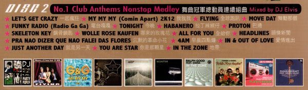 舞曲總動員 雙CD (音樂影片購)