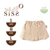 【SISSO有機棉】法式經典百褶裙小短裙 S M L