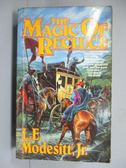 【書寶二手書T5/原文小說_IOH】The Magic of Recluce_Modesitt, L. E.