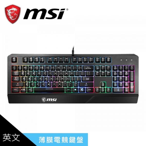 【MSI 微星】VIGOR GK20 電競鍵盤