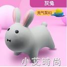 寶寶兒童充氣玩具小鹿跳跳馬咘咘同款加厚小馬坐騎無毒塑膠騎馬 NMS小艾新品