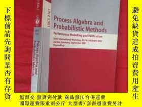 二手書博民逛書店Process罕見Algebra and Probabilistic Methods.... 【小16開 】 【詳