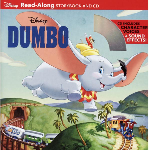 【麥克書店】DUMBO (小飛象) /英文繪本附CD ‧聽迪士尼說故事