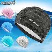 兒童泳帽 男女童卡通印花防水護發PU大童游泳帽子