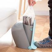 黑五好物節 垃圾桶家用帶蓋歐式個性腳踩腳北歐踏式塑料【名谷小屋】