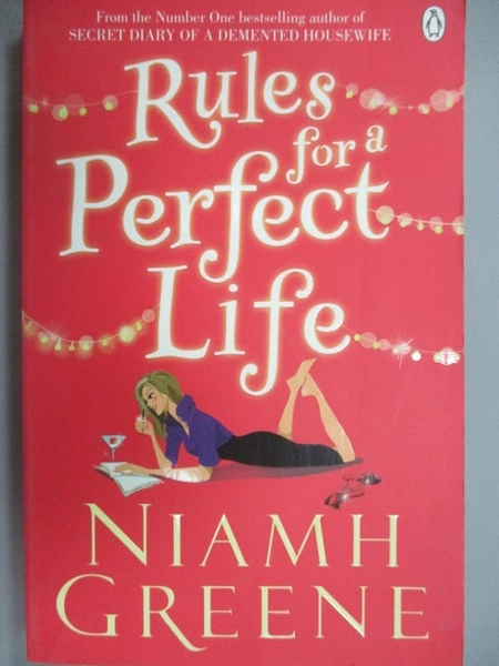 【書寶二手書T2/原文小說_NOM】Rules for a Perfect Life_Niamh Greene