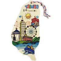 【收藏天地】台灣紀念品*台灣島行特色明信片(6款)