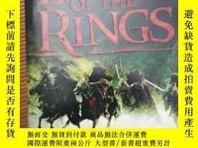 二手書博民逛書店The罕見lord of the rings (指環王全一冊)Y