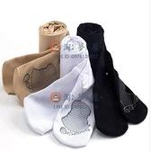 中大童舞蹈襪薄款絲襪抗起球按摩底兒童連褲襪白色女童專用【淘夢屋】