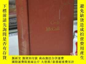 二手書博民逛書店1955年,英文原版,精裝毛邊,CASH罕見MCCALLY164
