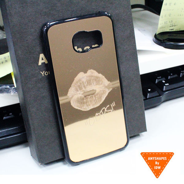 《現貨》Anyshapes-Samsung S6 Edge Sculptor鏡面系列手機背蓋-OOPS