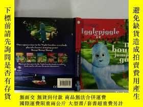 二手書博民逛書店The罕見bouncy jumping game:彈 遊戲Y200392