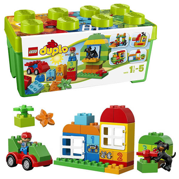 樂高積木LEGO 得寶系列 10572 綠色樂趣箱