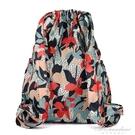 新款印花輕便後背包女大容量帆布媽媽包尼龍牛津布旅游背包潮 黛尼時尚精品