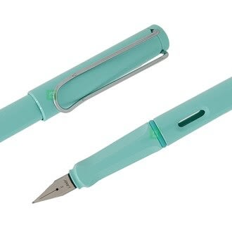 限量 2019 LAMY 狩獵者系列 SAFARI 粉彩 Pastel 馬卡龍 36 LightBlue天空藍 鋼筆 /支