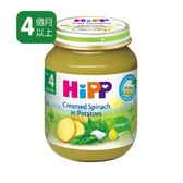 Hipp喜寶天然馬鈴薯菠菜泥 125gx6罐 450元