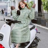 電動車擋風被秋冬加厚冬季擋風衣保暖手套電瓶摩托防風防寒衣騎車 遇見初晴