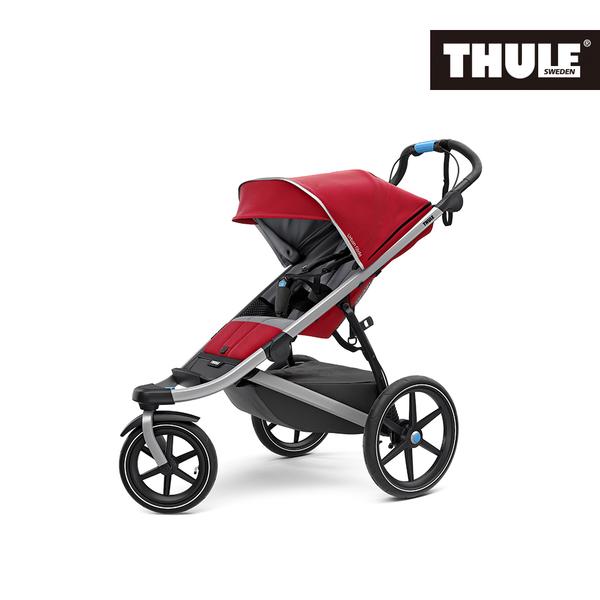 THULE-Urban Glide2單人三輪嬰兒手推車(紅色)