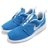Nike 休閒慢跑鞋 Roshe One BR Breeze 藍 白 基本款 休閒鞋 運動鞋 男鞋【PUMP306】 718552-411