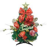 聖誕 裝飾 佈置 45公分繽紛聖誕樹組