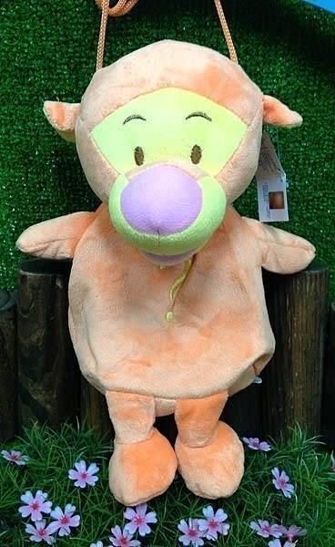 【發現。好貨】台灣授權 迪士尼卡通系列 米奇維尼驢子史迪奇跳跳虎側背包 兒童背包