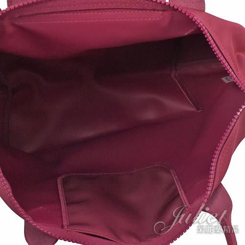 茱麗葉精品【全新現貨】Longchamp Le Pliage Neo折疊厚尼龍兩用包.覆盆子#1515