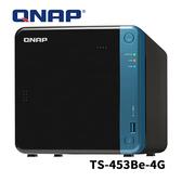QNAP 威聯通 TS-453Be-4G 4Bay 4G RAM NAS 網路儲存伺服器