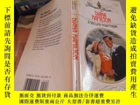 二手書博民逛書店a罕見secure marriageY11966 DIANA HAMILTON