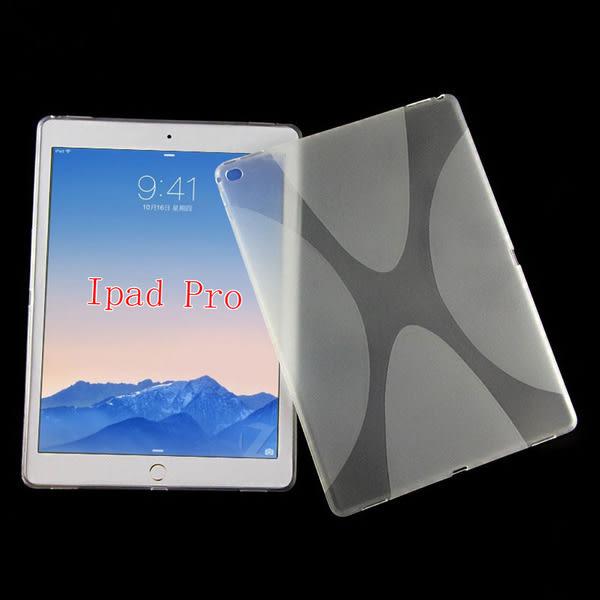 King*Shop~蘋果ipad pro 12.9寸保護殼 Ipad Pro 矽膠套 TPU 清水套防滑軟殼