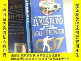 二手書博民逛書店ROLE罕見OF HONOURY4246 ISBN:978034